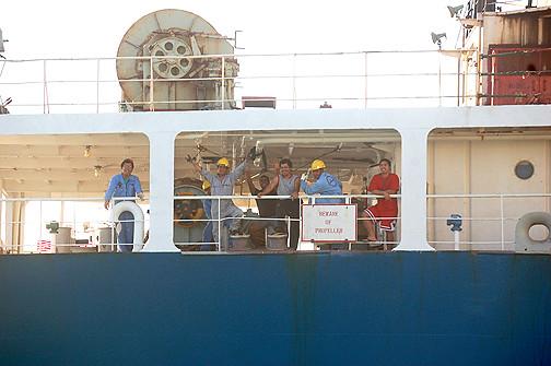 Shin Co-Op Maru crew