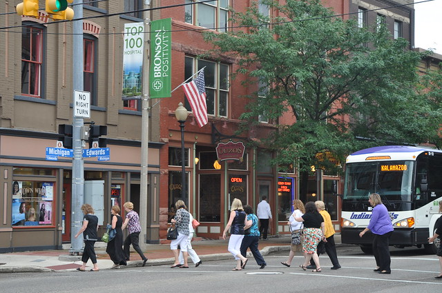 Kalamazoo is a Walkable Community Photo by Michigan Municipal League