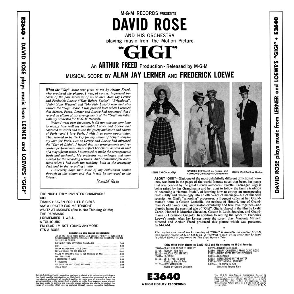 David Rose - Gigi