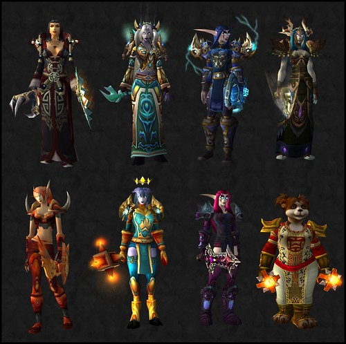 My WoW toons