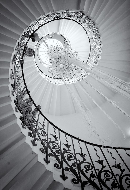 Tulip Stairs, Queen's House, Greenwich, Engand