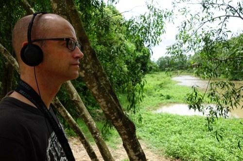 Silently listening...