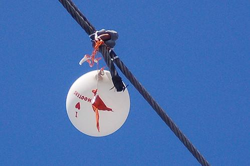Hooters balloon