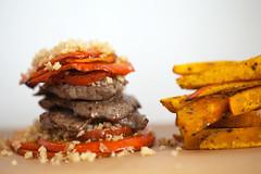 Kürbisburger
