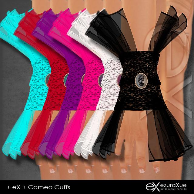 + eX + Cameo Cuffs