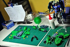 1-100 Kshatriya Neograde Version Colored Cast Resin Kit Straight Build Review (54)