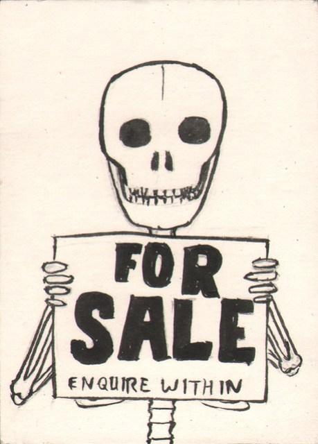 Commission a Skeleton Boy sketch