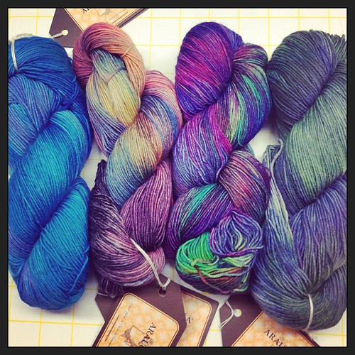 New yarn For sock !!! #araucania #yarn #sockyarn #ranco