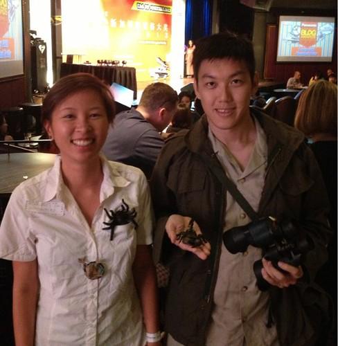 Singapore Blog Awards - Deby Ng & Ivan Kwan