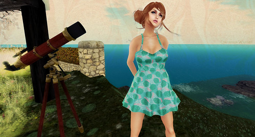 Has Been Softly Dress Teal