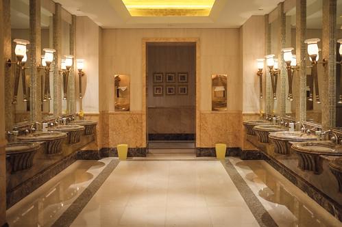 Emirates Palace Hotel, Abu Dhabi - Toilet I.