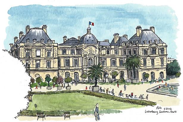 Palais de Luxembourg, Paris