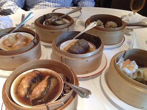 飲茶、、全部頼んでみました。@中国料理 龍天門