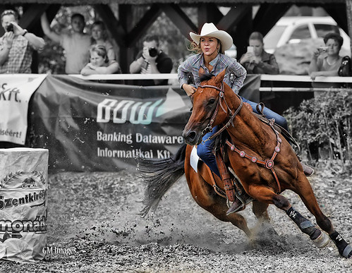 Barrel racing by tankkiller1