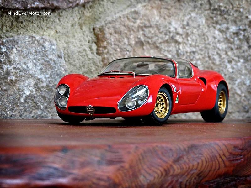 1/18 Alfa Romeo Tipo 33 Stradale by AUTOart