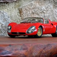 New Model: Alfa Romeo Tipo 33 Stradale by AUTOart