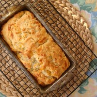 Cheddar Hatch Beer Bread