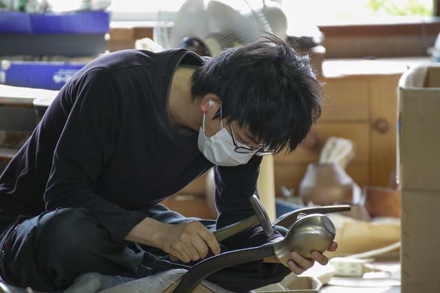 無形文化財 玉川堂 工場の祭典