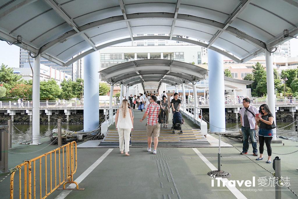 《东京游船体验》东京水上巴士:浅草出发40分钟直达台场