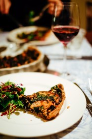 Ottolenghi's mushroom and walnut galette