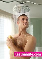 lastminute.com hotel room shower shoot - Hotel Russell, London
