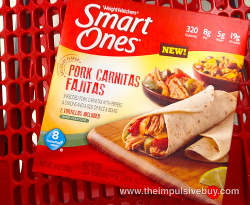 Smart Ones Pork Carnitas Fajitas