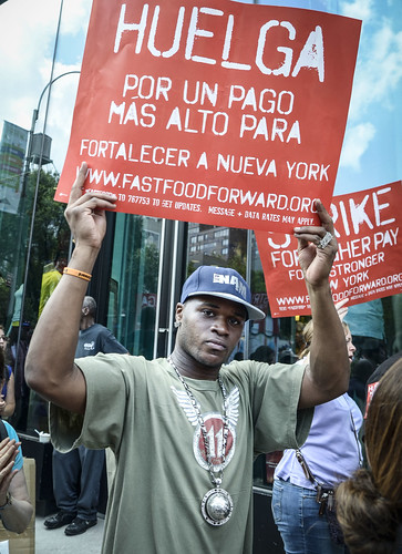 Fast Food Strikes, NYC, July 2013