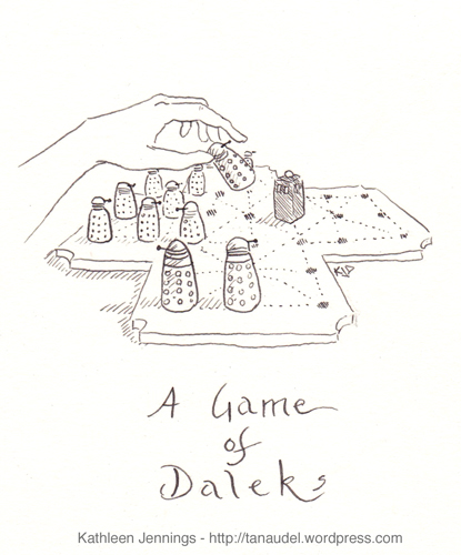 A Game of Daleks Kathleen Jennings