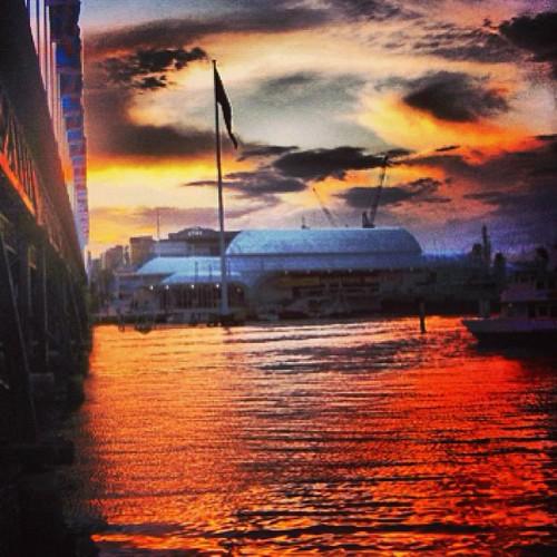 #sydney #australia #sunset by @MySoDotCom