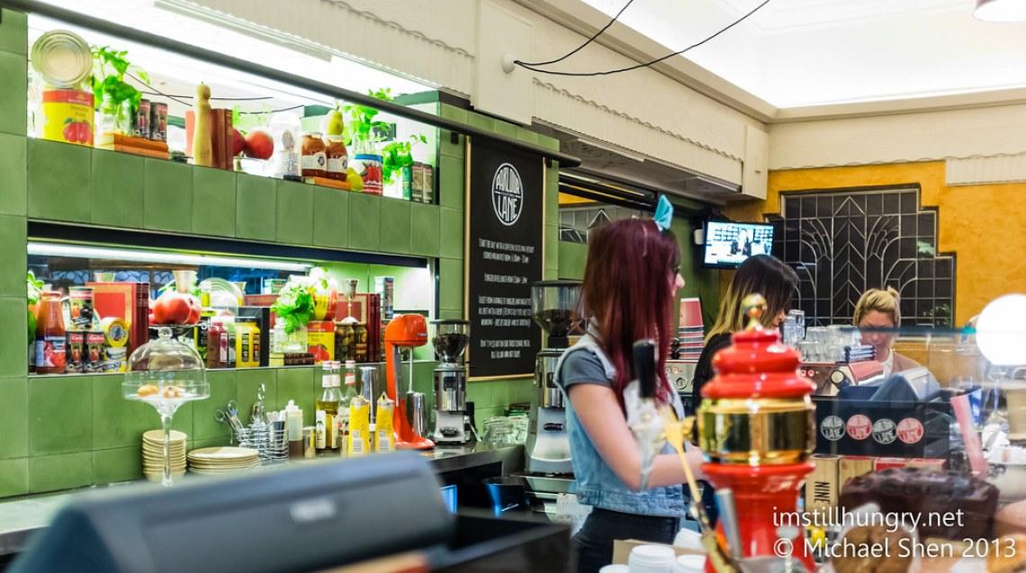 Parlour lane roasters sydney cafe