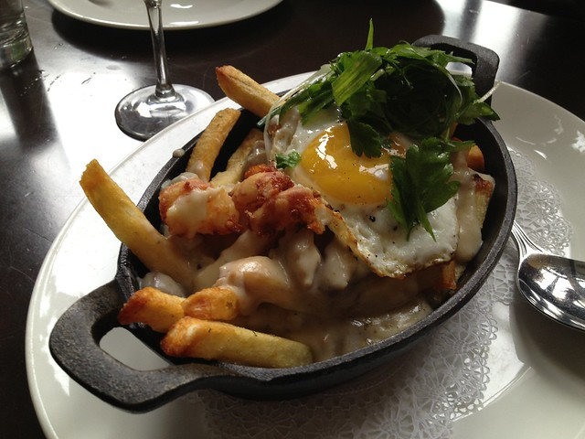 Breakfast poutine - The Coterie Room