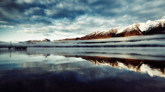 Glenorchy Jetty von Fear_Through_The_Eyes