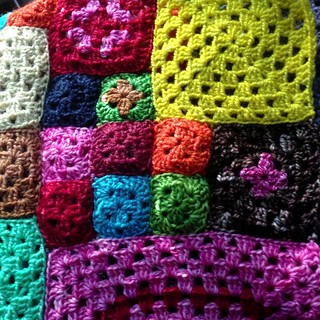 hooking and seaming, repeatedly