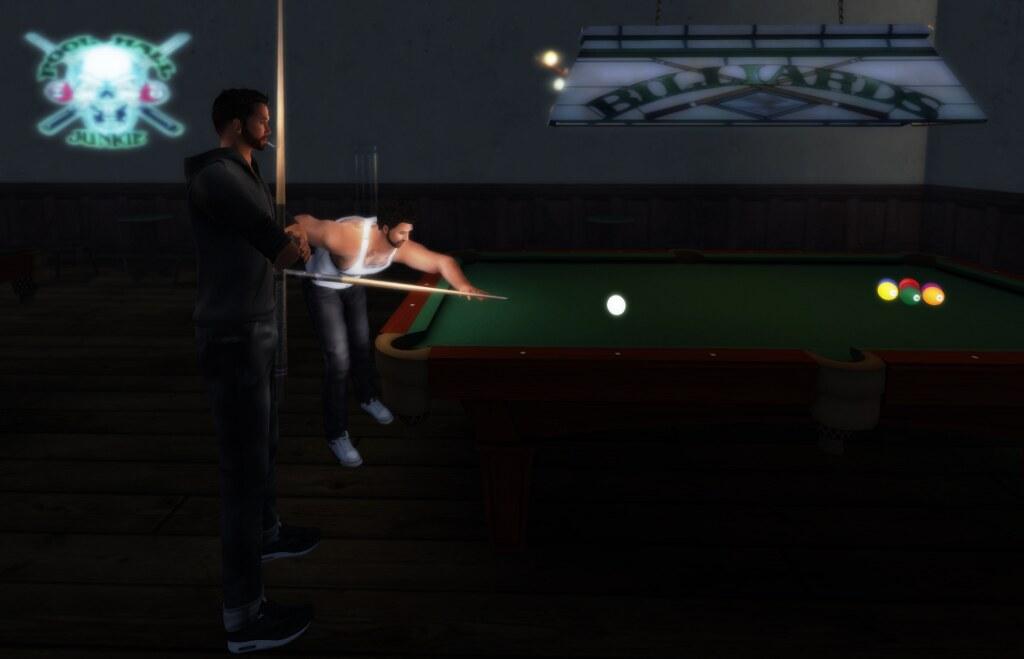 ... at the pool bar... (by Ricco Saenz)