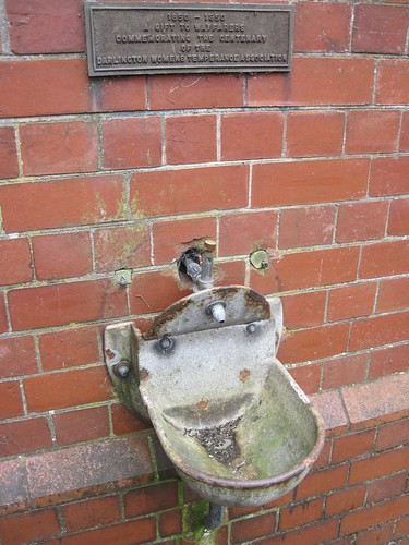 Drinking Fountain, Tees Cottage