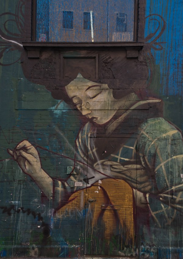 Mural in Chelsea, New York