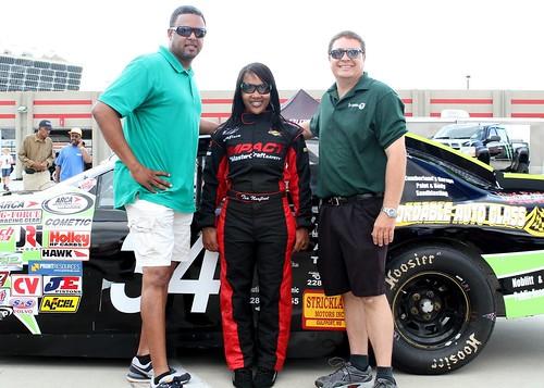 NASCAR's Tia Norfleet and her #34 car