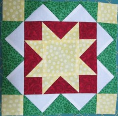 Jingle Pieced Block 3