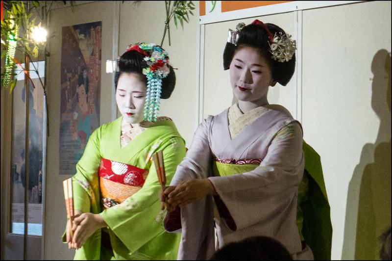 Maiko Hisamomo and Hisasuzu (久桃 & 久鈴)