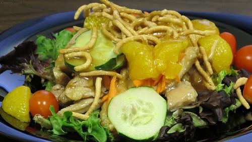 Asian chicken & mandarin orange salad by Coyoty