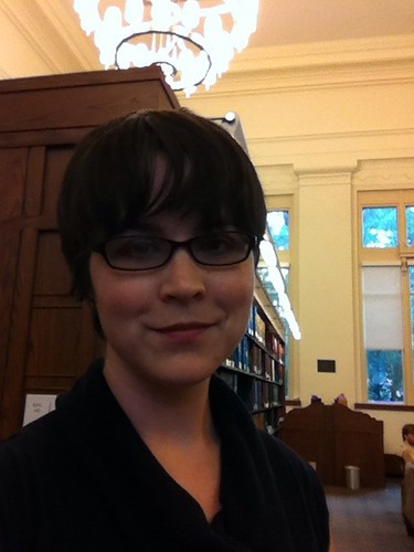 Me in the Harvard Law Library Reading Room