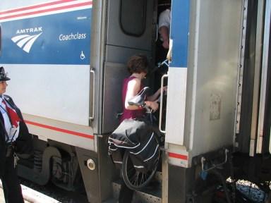 Proposed bike rack on Amtrak train to Michigan