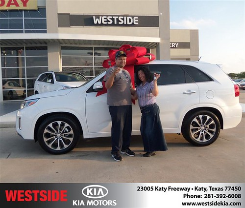 Happy Birthday to Erida Moreno from Baez Orlando and everyone at Westside Kia! by Westside KIA