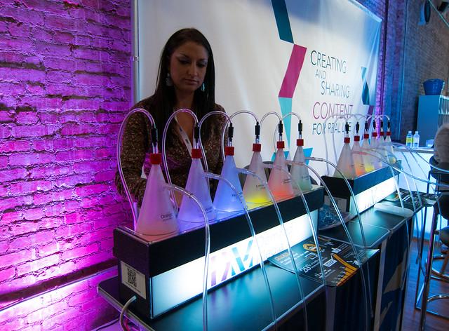 Demand Media Oxygen Bar at Internet Week New York 2012