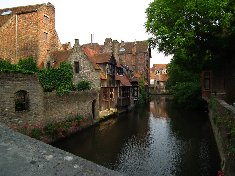 Canals in Brugge, Belgium
