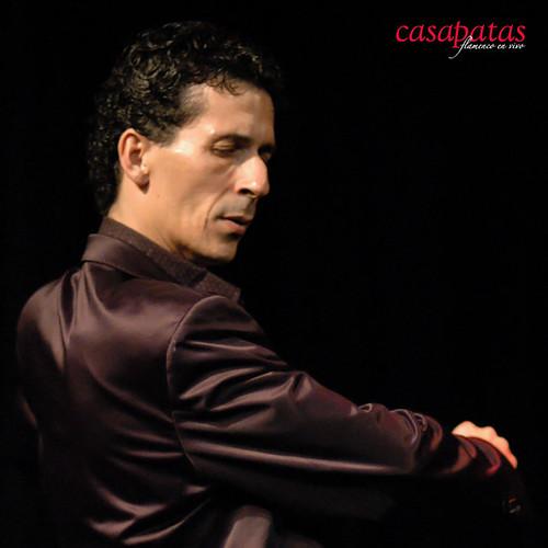 Miguel Téllez, bailaor de Jerez. Foto: Martín Guerrero