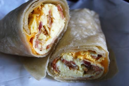 Lolitas breakfast burrito