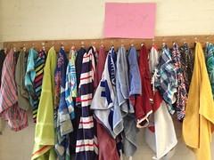dry racks, summer camp