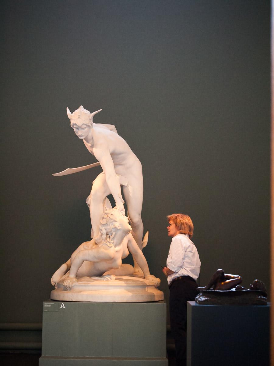 Escultura en Ny Carlsberg Glyptotek