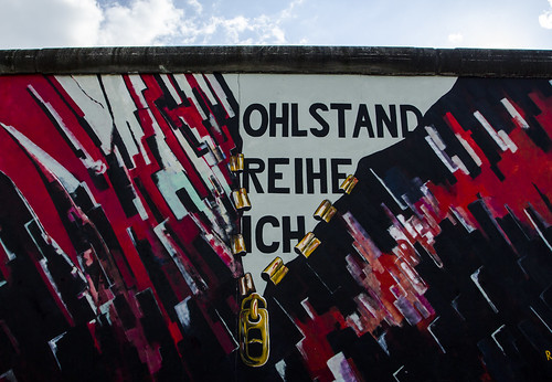 Nellu Mazilu, Berlin Wall, East Side Gallery, Germany